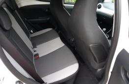 Toyota Aygo, rear seats