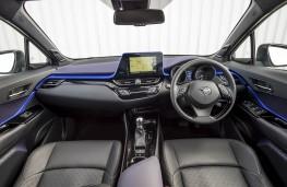 Toyota CH-R, dashboard