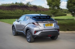Toyota C-HR, rear action