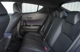 Toyota C-HR, rear seats