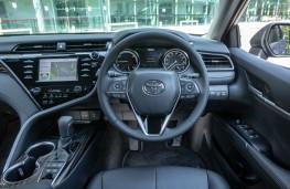 Toyota Camry, dashboard