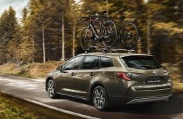 Toyota Corolla Touring Sports TREK, 2019, rear