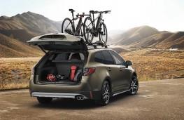 Toyota Corolla Touring Sports TREK, 2019, boot