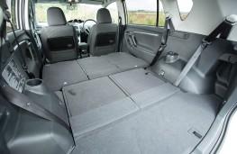 Toyota Verso, seats down