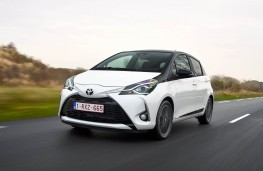 Toyota Yaris, front action