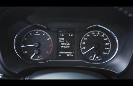 Toyota Yaris, dash detail