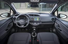 Toyota Yaris, dashboard
