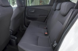 Toyota Yaris, rear seats