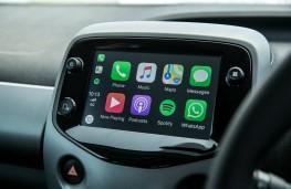 Toyota Aygo, touchscreen
