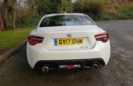 Toyota GT86 2.0, back