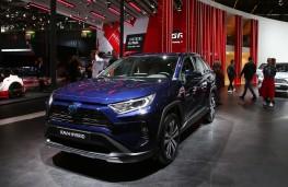 Toyota RAV4 hybrid, Paris Motor Show, 2018