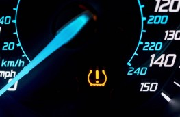 Tyre pressure monitoring system, TPMS, warning light