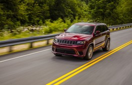 Jeep Grand Cheorkee Trackhawk, 2018, front