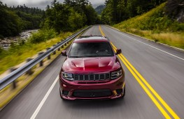 Jeep Grand Cheorkee Trackhawk, 2018, nose
