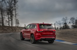Jeep Grand Cheorkee Trackhawk, 2018, rear, action