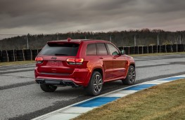 Jeep Grand Cheorkee Trackhawk, 2018, rear, static