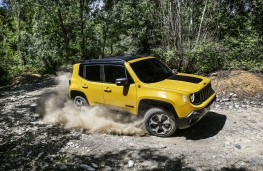 Jeep Renegade Trailhawk, 2018, off road, side