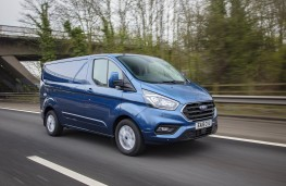 Ford Transit, 2020, front, action