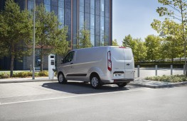 Ford Transit Custom Plug-in Hybrid, 2019, rear
