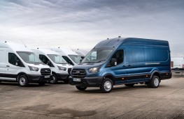 Ford Transit, 2020, line up