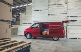 Volkswagen Transporter, 2020, side, door open