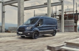 Ford Transit Trail, 2020, side, action
