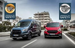 Ford Transit and Transit Custom, 2020, Euro NCAP award winners