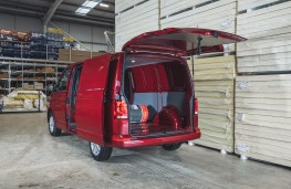 Volkswagen Transporter, 2020, rear, load space