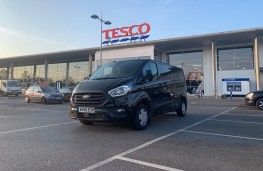 Ford Transit, 2020, front