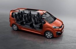 Peugeot Traveller, interior