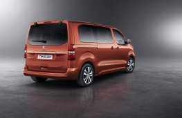 Peugeot, Traveller, rear