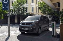 Peugeot e-Traveller, 2020, charging