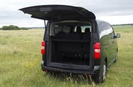 Peugeot Traveller, boot