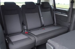 Peugeot Traveller, rear seats