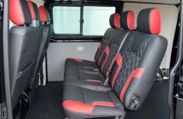 Volkswagen Transporter Sportline, 2016, rear seats