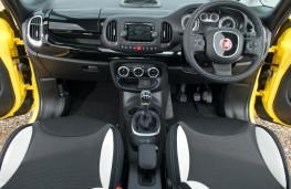 Fiat 500L Trekking, interior