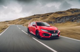 Honda Civic Type R GT, front