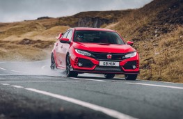 Honda Civic Type R GT, front, action