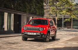 Jeep Renegade Trailhawk 4xe, 2020, front