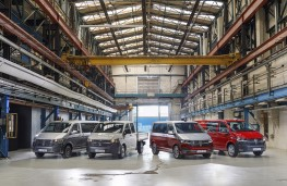 Volkswagen Transporter T6.1, 2019, Multivan, line up