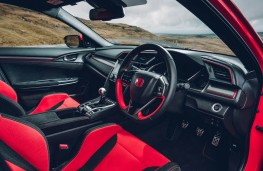 Honda Civic Type R GT, interior