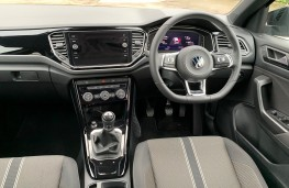 VW T-Roc Black Edition, 2021, interior