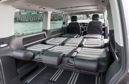 Volkswagen Transporter T6.1, 2019, Multivan, seats folded