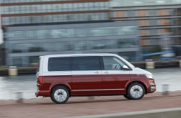 Volkswagen Transporter T6.1, 2019, Multivan, side