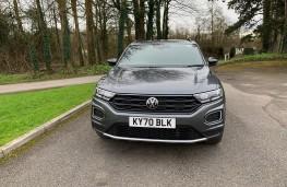 VW T-Roc Black Edition, 2021, nose