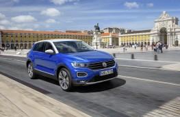 Volkswagen T-Roc, 2017, front