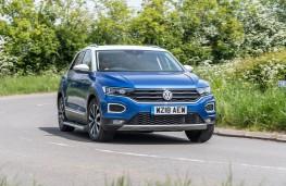 Volkswagen T-Roc, 2018, front