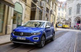 Volkswagen T-Roc, 2017, front, town