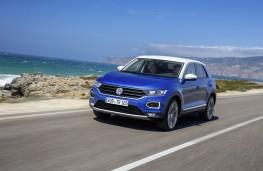 Volkswagen T-Roc, 2017, front, action