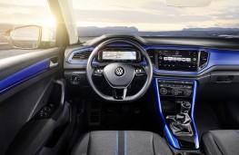 Volkswagen T-Roc, 2017, dashboard